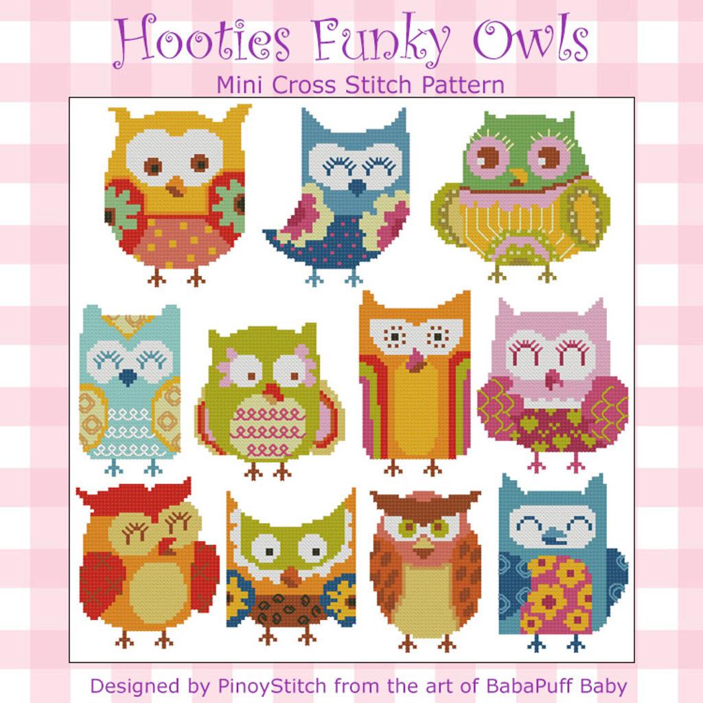 Hooties Funky Owls