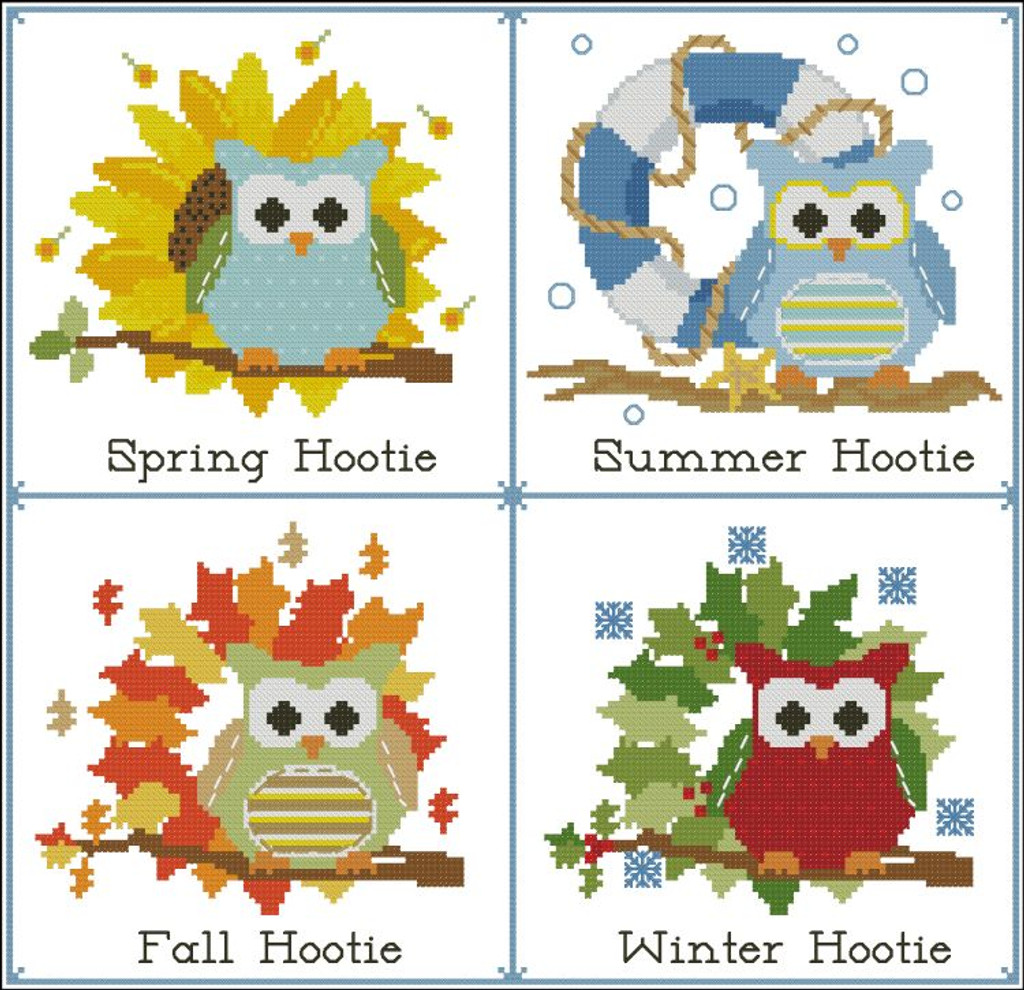 Hooties Seasons of the Year