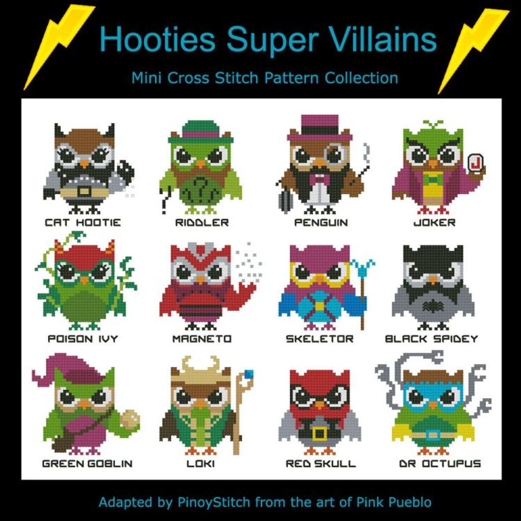 Hooties Super Villains