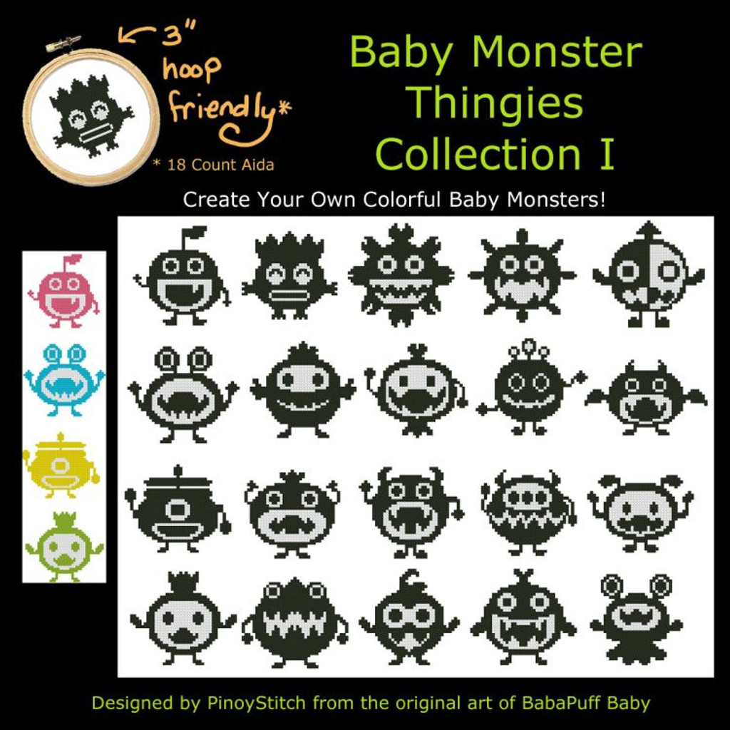 Baby Monster Thingies Collection I
