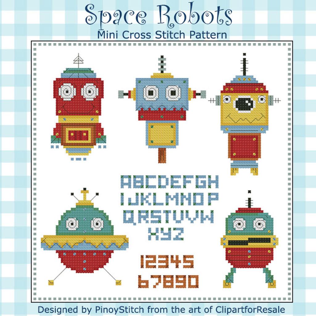 Space Robots Mini Sampler