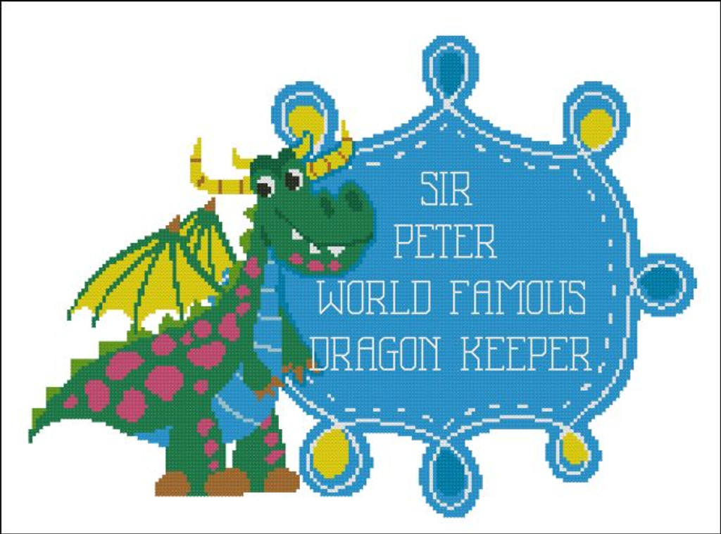 World Famous Dragon Keeper Boy (Customizable)