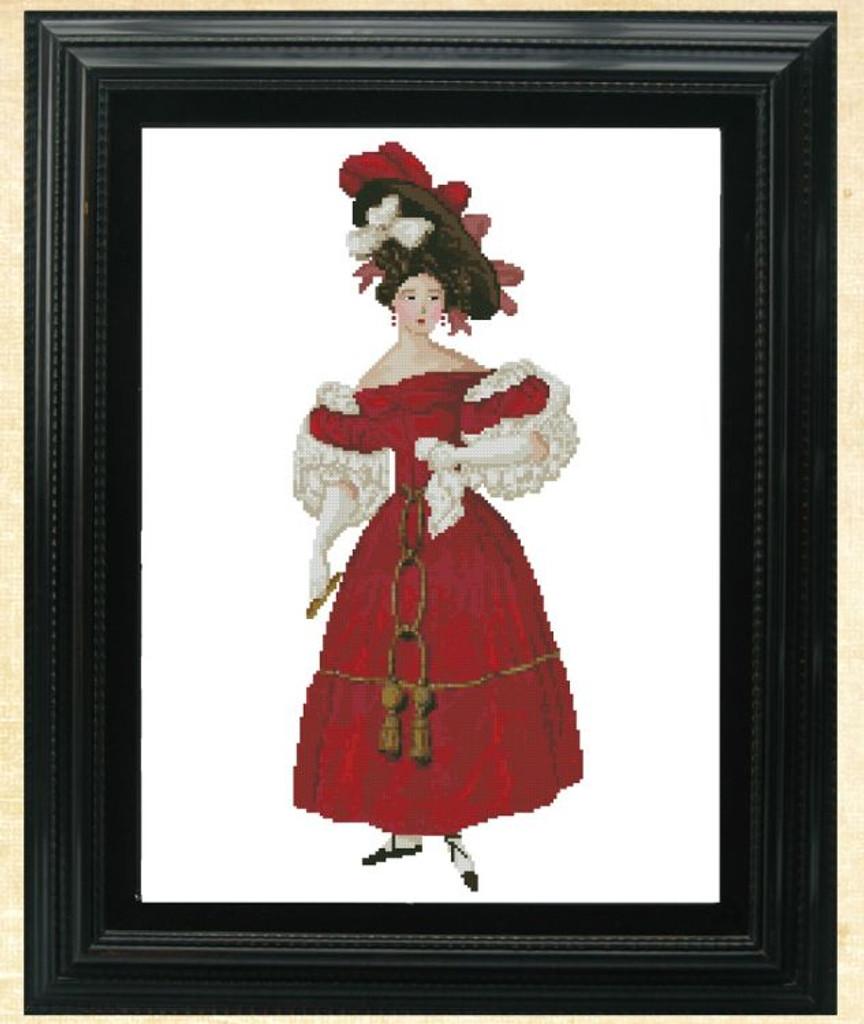 Mlle. Genevieve Victorian Fashion Chart