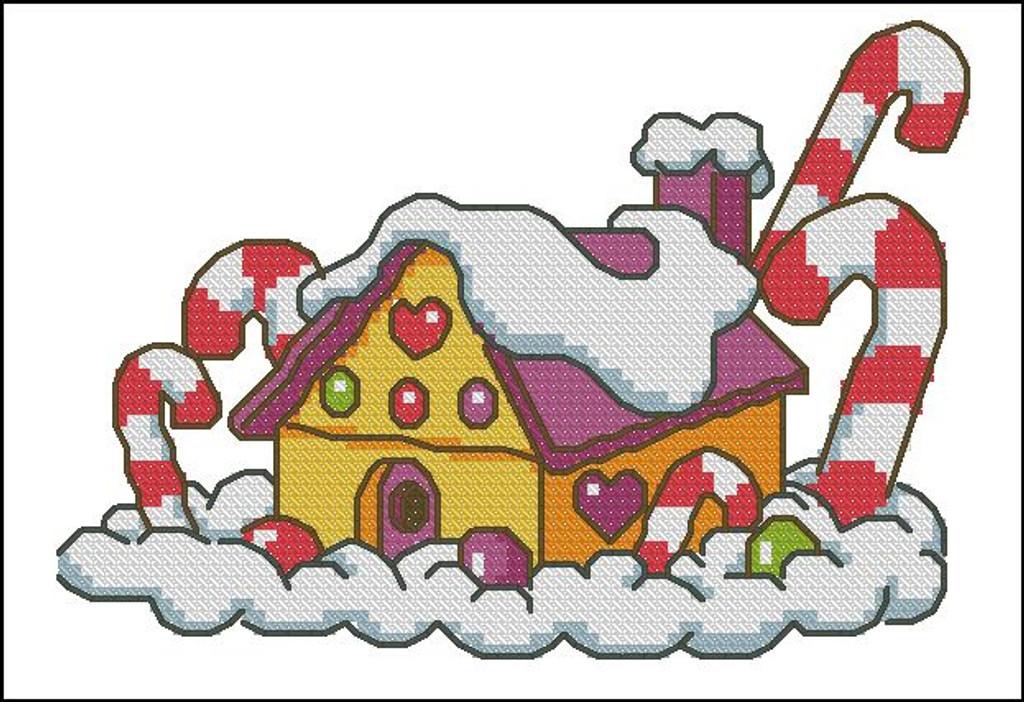 Candy Cane House II