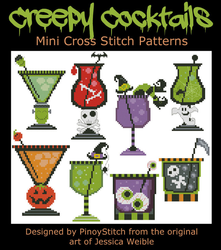 Halloween Creepy Cocktails