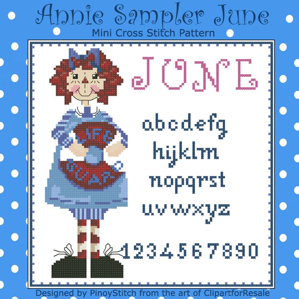 Annie Mini Sampler 006 June