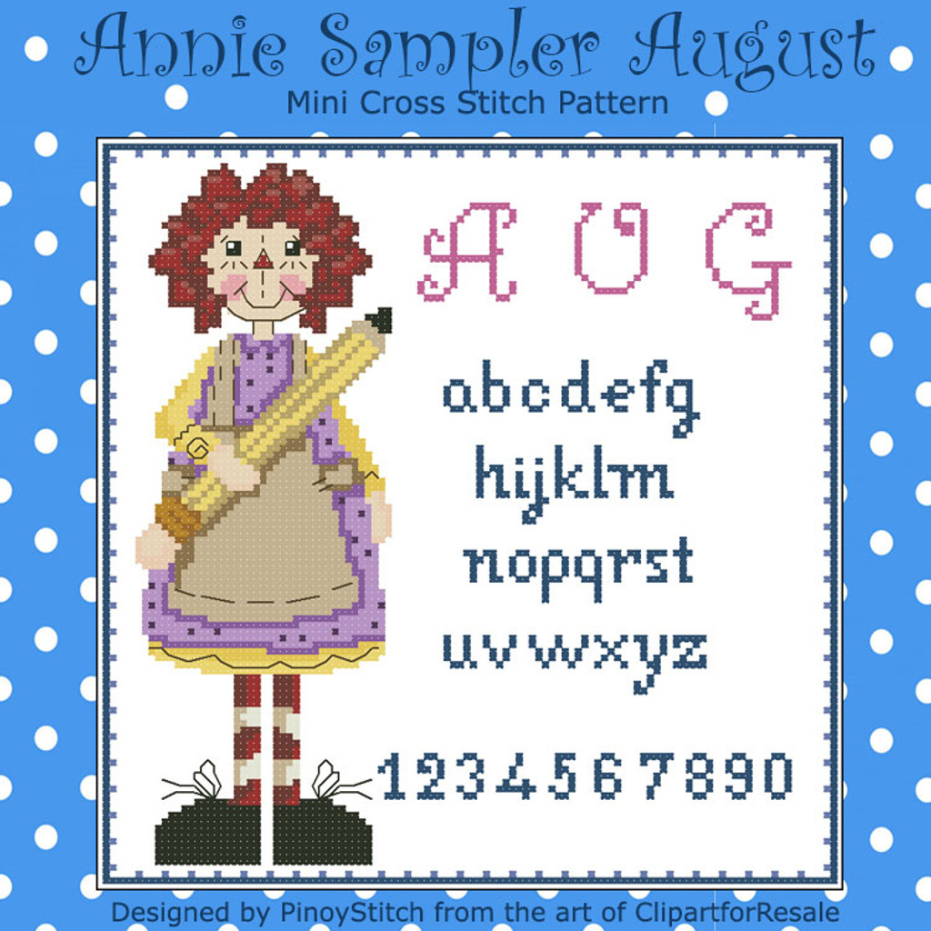 Annie Mini Sampler 008 August