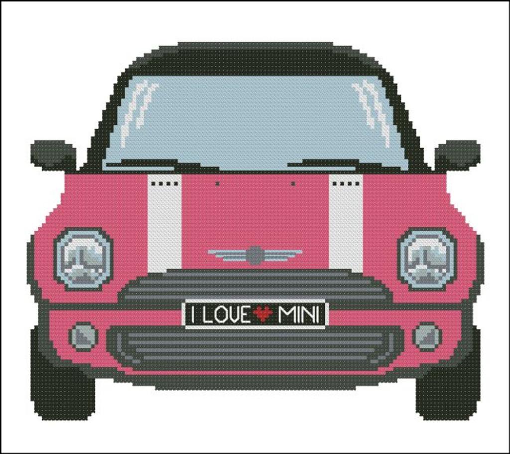 Mini Sports Car Pink