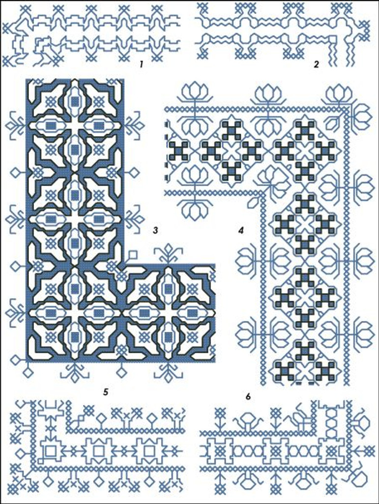 Assisi Embroideries Plate 005