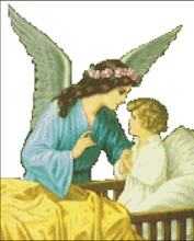 Guardian  Angel with Child