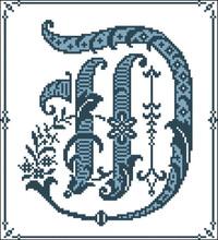 Gothic Alphabet D