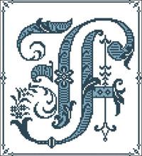 Gothic Alphabet F