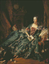 Madame Pompadour in Green Gown