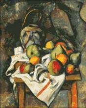 Ginger Jar and Fruits