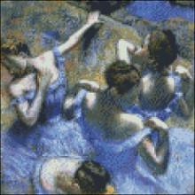 Dancers in Blue 2