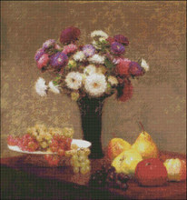 Asters and Fruits