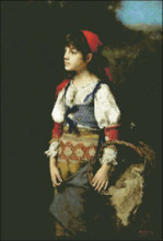 Pretty Peasant Girl
