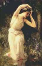 Nymph in the Forest
