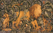 Lion in the Forest (Detail)