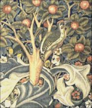 Woodpecker Tapestry (Detail)