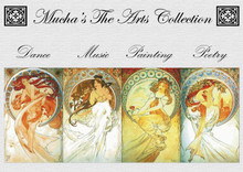Mucha's The Arts Cross Stitch Pattern Collection