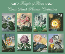 Temple of Flora Cross Stitch Collection