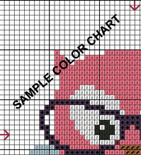 Tacos & More Mini Cross Stitch Pattern Stitch & Hoop
