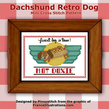 Dachshund Retro Dog