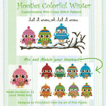 Hooties Colorful Winter Collection