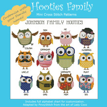 Hooties Family (Customizable)