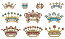Victorian Crown Motifs