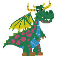 Happy Dragon Green