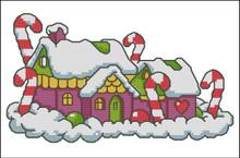 Candy Cane House I
