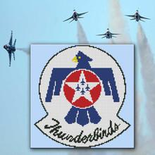 Thunderbirds Air Force Emblem