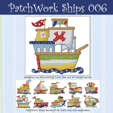 Patchwork Ships 006