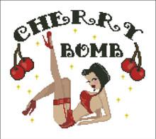 Cherry Bomb Sexy Pin up Girl