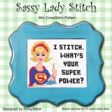 Sassy Lady Stitch