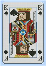 Vintage King of Spades Playing Card