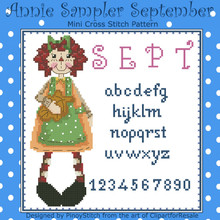 Annie Mini Sampler 009 September