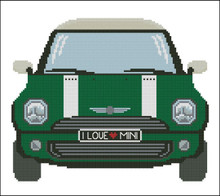 Mini Sports Car Green