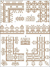 Assisi Embroideries Plate 004