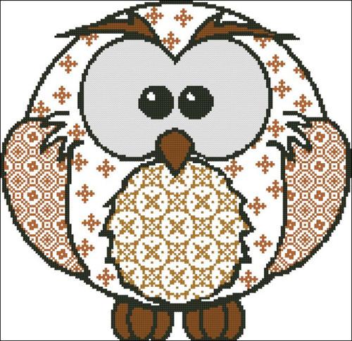Owl Patchwork