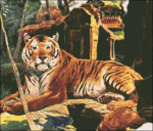 Tiger in the Ruins