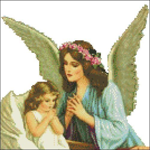 Guardian Angel in Prayer
