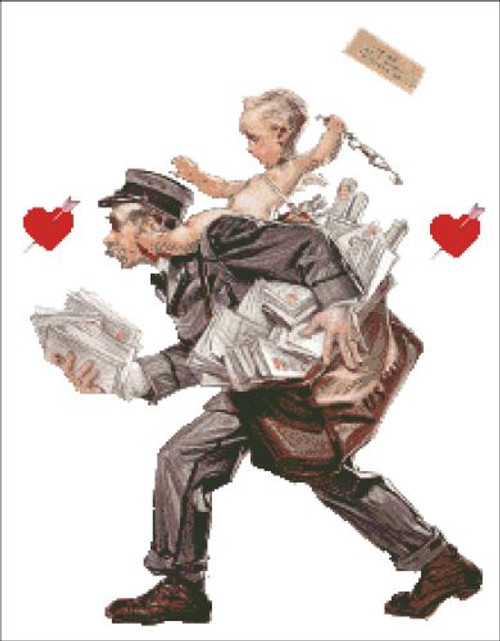 Cupid and the Postman
