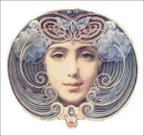 Golden Blue Lady