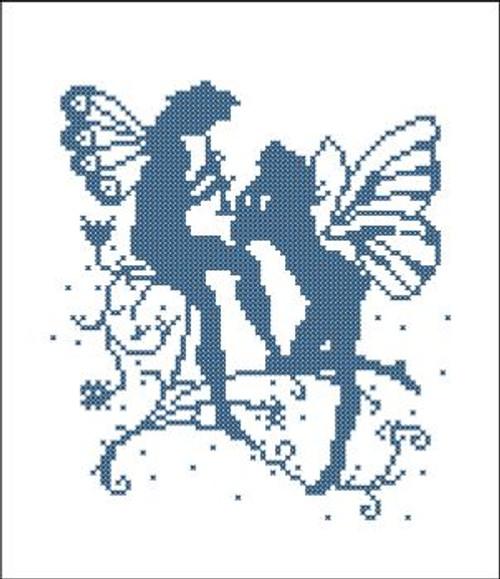 Fairy Magic Silhouette