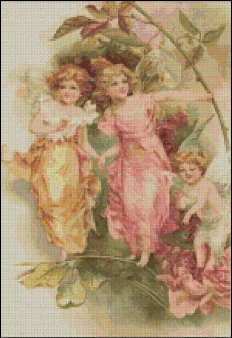 Vintage Fairies Three