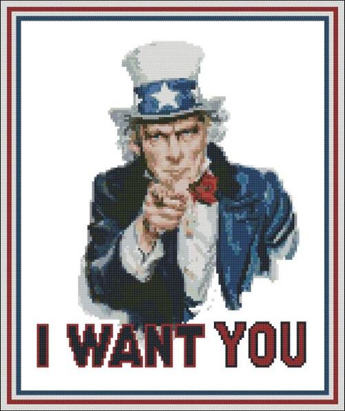 Patriotic: I Want You