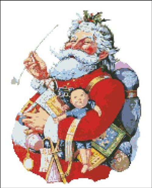 Merry Santa Claus
